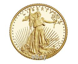Brand New Mint 2021 American Eagle One-Half Ounce Gold Proof Coin (1/2 oz) RARE