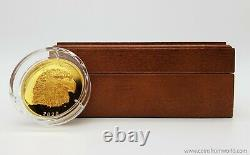 Canada 2020 250$ Proud Bald Eagle 2 oz. Pure Gold Coin Royal Canadian Mint EHR