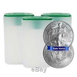 Daily Deal Lot of 60 $1 American Silver Eagle 1 oz Random Year Brilliant Unc