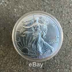 LOT OF 10 2016 1 oz Silver American Eagle Coins 1 oz Total. 999 fine