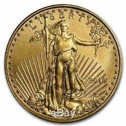 Lot Of 2 1/10 oz Gold American Eagle $5 Coin BU (Random Year)