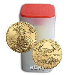 Lot of 20 2019 1 oz Gold American Eagle $50 Coins Brilliant Uncirculated