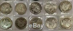Lot of 20 American Silver Eagle 1 oz Coins. 999 fine 20 ounces FREE SHIPPING