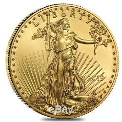 Lot of 2 2019 1/4 oz Gold American Eagle $10 Coin BU