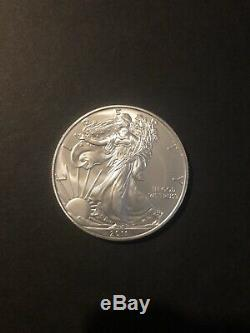 Lot of 40-2011,1 oz Silver American Eagle $1 Coin BU (2 Roll, Tube of 20) Bullion