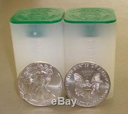 Lot of (40) 2019 1 oz. 999 Fine American Silver Eagle Bullion Coins Eagles