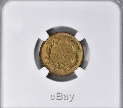 Lot of One NGC-Certified, MS 63, 1857 Flying Eagle Cent Coin