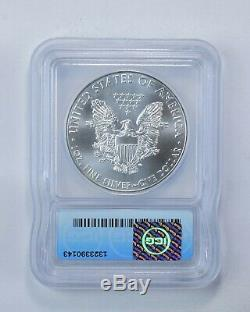 MS69 2015-(P) American Silver Eagle Minted At Philadelphia Graded ICG 586