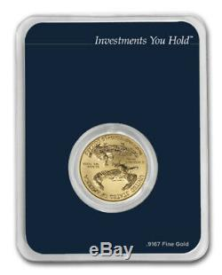 New 2019 1/4 oz Gold American Eagle (MintDirect Single) In mint direct package