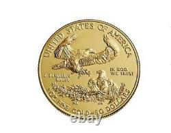 PRESALE American Eagle 2020 One Ounce Gold Uncirculated Coin Unopened Mint Pack