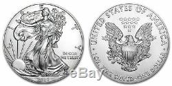 Pallet of 2019 Silver Eagles 25 Mint Sealed Monster Boxes = 12,500 oz FREE Ship