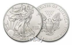 Roll 2020 1 Oz. American Silver Eagle Coins First Strike In A U. S. Mint Tube