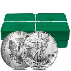 Roll of 20 1991 1 oz Silver American Eagle $1 Coin BU (Lot, Tube of 20)