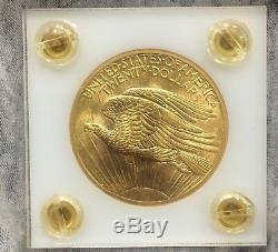 Super 1908 P Ms S$20 Gold St. Gaudens Double Eagle Us Mint Coin No Motto Gem Bu