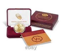 US MINT 2020 End of World War II 75th Anniversary American Eagle Gold Proof Coin