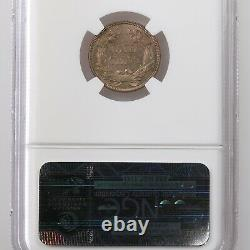 1857 Flying Eagle 1c Ngc Certifié Ms65 Mint State Graded Copper Small Cent Coin