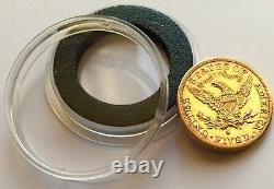 1882 American Gold Half Eagle Coin Liberty Head San Francisco Mint
