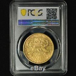 1890 CC 20 $ Liberté Tête D'or Double Eagle Gpc Xf45 Carson City Mint Coin