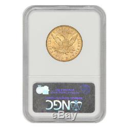 1893 $ 10 Pièces De Monnaie Philadelphie Au Choix De La Tête Liberty Head Gold Eagle 1893 À 10 $
