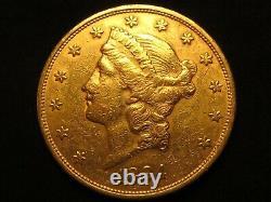 1894 S Gold Twenty Dollar Double Eagle Liberty 20 $ Pièce Pure Fine Ronde À La Menthe