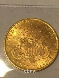 1897 U. S. Mint Liberty Head, 20 $ Double Eagle Coin