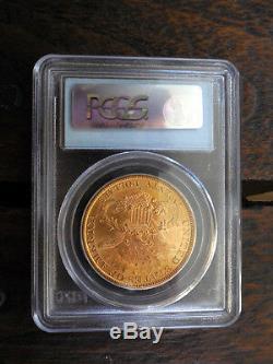 1897s $ 20 Double Eagle Ms62 Pcgs - Frappées San Francisco