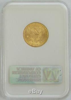 1899 Or 5 $ Liberté Head Ngc Mint Etat 63 Half Eagle Coin