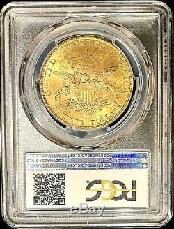 1900 Pièce En Or American Double Eagle Ms63 Liberty Head Avec Tête De Liberty Pcgs 20 $