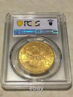 1902 $20 Pcgs Ms61 Liberty Double Eagle Gold Coin Très Belle Rare P-mint