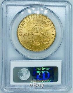 1904 Pièce De Monnaie Inversée À Vingt Dollars Liberty Gold Gold Double Eagle Ms63 De Pcgs