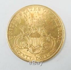 1905 S Us Mint $ Double Eagle Liberté 20 Head 1 Oz Gold Coin Unc Livraison Gratuite