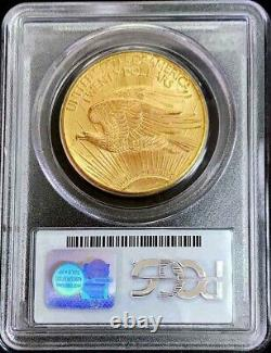 1911 D Nous Or $ 20 Dollar Saint Gaudens Double Eagle Coin Pcgs Mint State 65