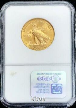 1914 D Or $10 Dollar Indian Head Eagle Coin Ngc Mint State 61