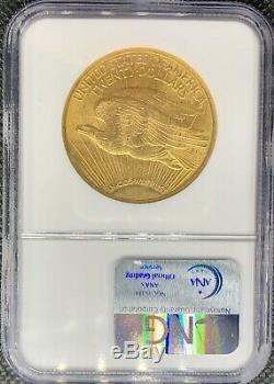 1914-s 20 $ Double Gold American Eagle Ms63 Ngc Liberté Et Mint Rare Date De Monnaie
