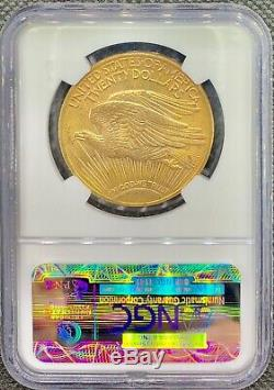 1922 $ 20 Golds Double American Eagle Ms62 Ngc Saint Gaudens Monnaie Rare Date De Monnaie