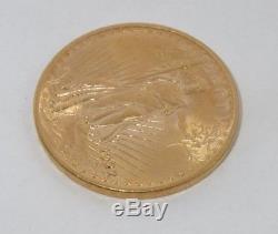 1922 Saint Gaudens Pièce De 20 Dollars En Or Double Aigle, Us Mint. Augustus St. Gaudens