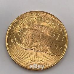 1924 $ Liberty Gold Pièce De Monnaie Non Dégradée À Double Aigle Or À 20 Dollars