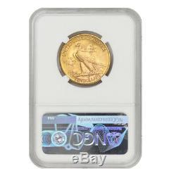 1926 $ 10 Pièces D'or Indian Head Ngc Ms64 Monnaie De Philadelphie Ten Dollar D'eagle Coin