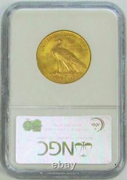 1932 Or États-unis 10 $ Indian Head Eagle Coin Ngc État De La Monnaie 63