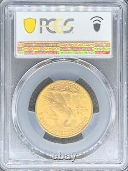 1932 Or États-unis $10 Indian Head Eagle Coin Pcgs Mint State 64