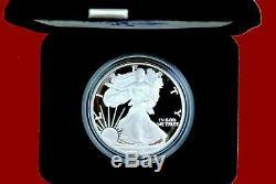1986 2018 American Eagle Dollar En Argent Épreuve, Mis Dans Des Boîtes De Menthe Et Coa