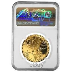 1986 W 1 Oz Preuve De 50 $ Or American Eagle Ngc Pf 69 Erreur De Menthe (rev Struck Thru)