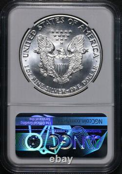 1986 (s) Silver American Eagle $1 Ngc Ms70 Struck San Fran Mint Trolley Stock