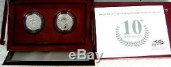 1997-2020 Pf Plt Eagle Compl. Set In Orig. Pkg. Publiées Par U. S. Mint-sacrifice