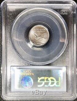 2004 Platinum American Eagle Ms69 Monnaie Américaine Statue De La Liberté 10 Usd. 9995