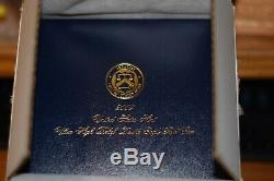 2009 Ultra High Relief Double Eagle Gold Coin, Boîte Originale, Boîte De Navire Monnaie Et Coa