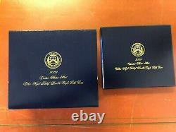 2009 Ultra High Relief Double Eagle Gold Coin, Original Box, Mint Ship Box & Coa