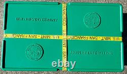2011 1 Oz American Silver Eagles 500 Pièce Scellée Monster Box San Francisco Mint