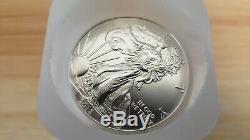 2013 American Eagle Argent X60 1 Oz Pièces 3 Rolls Lot