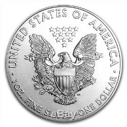2013 Amérique Silver Eagle 1 Oz Bu- Lot De DIX (10) Pièces